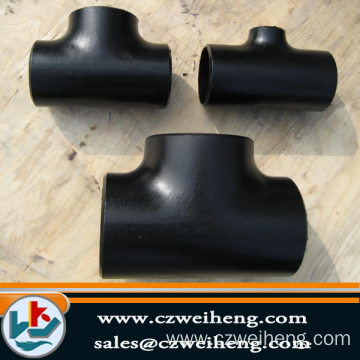 hot selling welding steel tee pipe