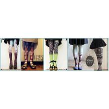 2016 Mode neue Design Tattoo Strumpf Rohr für Körper und Sex Büro Dame