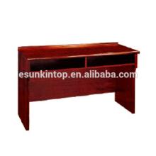 Balcão de recepção para venda de móveis de escritório, fornecedor de móveis de boa qualidade (T010)