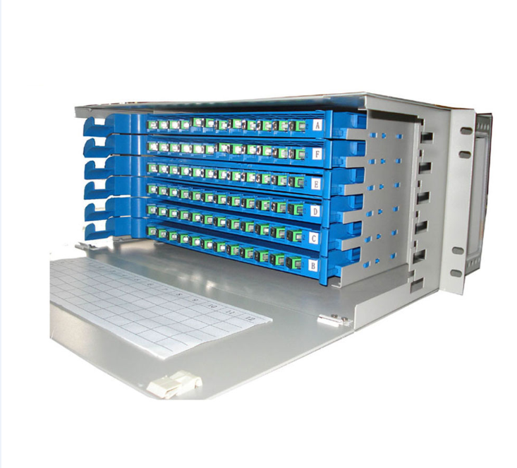 96 Core Fiber Rack Mount Odf