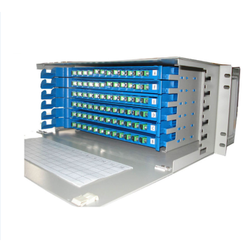 96 Core Rack Mount LC-Port Optical Cross ODF