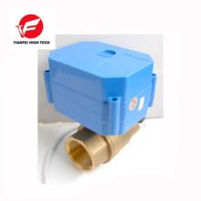 CR01 CR02 12V 24V DN15 brass CWX-60P 6nm full port motorized ball valve