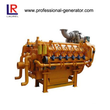 4-Stroke Dual Fuel Engine, Natural Gas and Diesel Engine