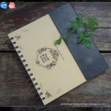 Stationery Factory Offer 24k Magnet Spiral Notebook (XL-24K-CKX-01)
