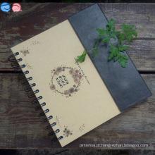 Material da fábrica de papelaria 24k Ímã Notebook Spiral (XL-24K-CKX-01)