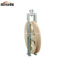 Bloc de poulie en nylon à une roue pour OPGW