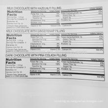 Papiermaterial, das Fda Nahrungsmittelaufkleber druckt