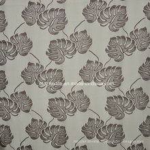 Popular Jacquard Circle Flower Design Window Curtain