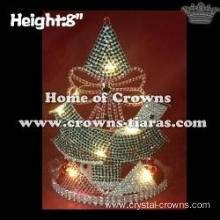 8in Battery Light Up Christmas Tree Christmas Pageant Crowns
