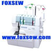 Máquina de coser doméstica Overlock de 3 hilos