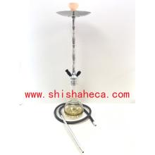 Narguilé en gros de qualité en aluminium fumer Pipe Narguilé Shisha