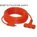 12-3 100′ General Purpose Outdoor Orange Power Extension Cord