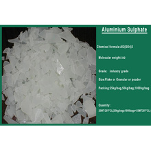 China Hot Abwasser Behandlung Chemikalien 17% Aluminium Sulfat