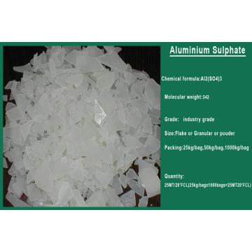 China Tratamento de Água Quente Química 17% Sulfato de Alumínio