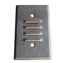 Metal não-padrão pressionando peças de perfuração (JX027)