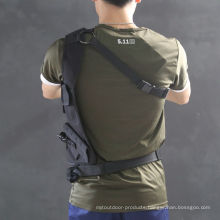 Nylon Tactical Field CS Outdoor Single Shoulder Bag Hidden Style Black