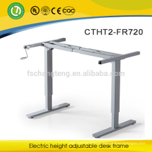 Wholesales motorized adjustable height table legs sit stand desk frame manual height adjustable desk