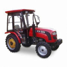 Four-wheel Tractor with 22.10kW Rated Power, Sized 3,200 x 1,500 x 1,880mm and 2,350rpm Rated Speed
