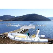Casco de fibra de vidro novo barco de RIB520C com CE