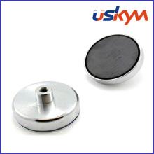 Sosteniendo el imán magnético del pote de la ferrita del pote (P-006)