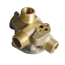 Corps de pompe principal, moulage de précision en laiton