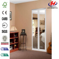 Mir-Mel Mirror Solid Core MDF Interior Bi-fold Door