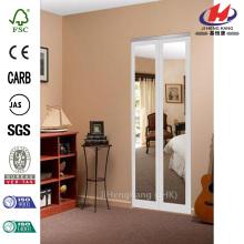 Mir-Mel Mirror Solid Core MDF Interior Bi-fold Door