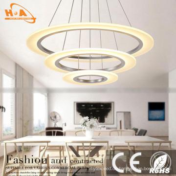 Hotel-Wohnanhänger-Decken-Beleuchtungs-modernes rundes Kristallleuchter-Licht