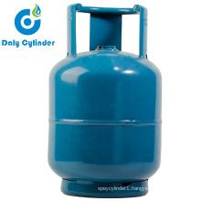 Zimbabwe 4.5kg Empty Refillable LPG Gas Cylinder with Burner