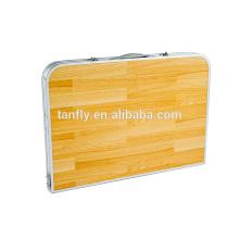 new design fishing furniure aluminum folding table