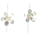 Top Quality Fashion Lady Jewelry 925 Silver Pearl Earring (E6572)