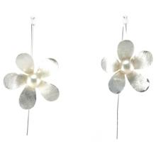 Серьга перлы ювелирных изделий способа 925 высокого качества способа верхнего качества (E6572)