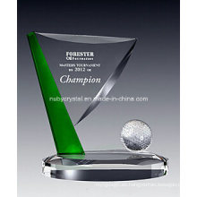 Green Ridge Golf Crystal Sport Trophy 1006
