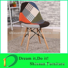 Italia Design Living Room fabric patchwork chair