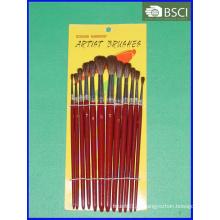 12PCS деревянный набор кисти художника ручки (AB-069)