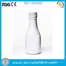 Große Kapazität Custom drucken Milchflasche mit Kappe