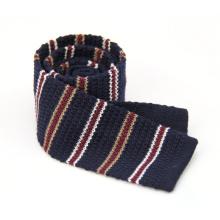 Cravate de cou de tricot de style de jacquard de conception faite sur commande de livraison rapide
