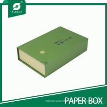 Caixa personalizada elegante do chá do papel de impressão para o empacotamento do chá