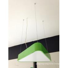 Modern Green Color Iron 36 W LED Pendant Lighting for Livingroom