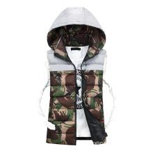 Men Hooded Vest Jackets Men Casual Jackets Women Sleeveless Jacket