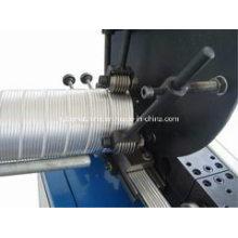 Máquina de conducto flexible de aluminio