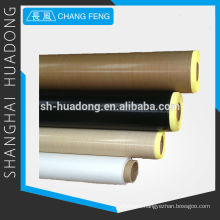 PTFE fabric coated glassfiber, has the lowest co-efficient of friction known