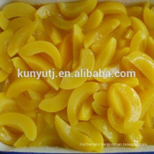 canned yellow peach slice