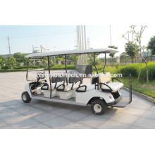 Carro elétrico do golfe esperto de 6 assentos com certificado do CE