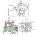 Sinotruk Spare Parts Aircraft Special Gasoline Engine
