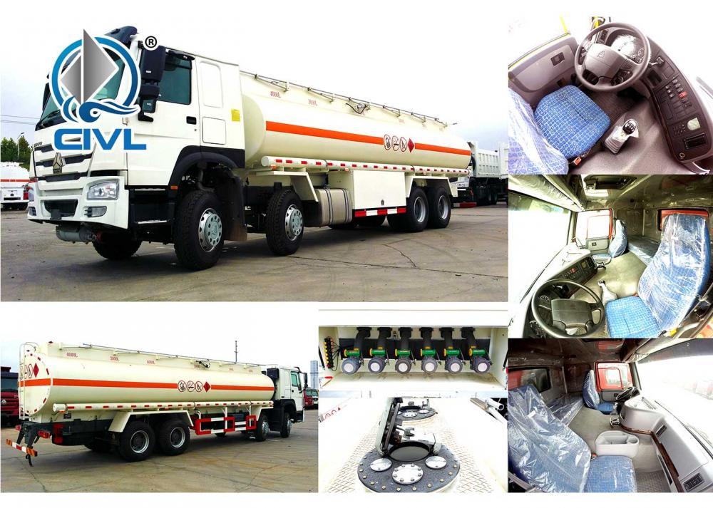 Howo 8x4 Fuel Tanker Truck 26