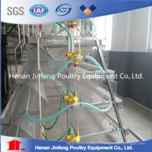 Équipement de ferme de volaille d'oeufs de poulet de fil d'acier Q235