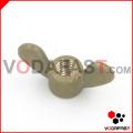 Brass Wing Nut Round Nose