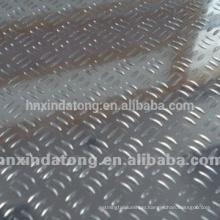 3 bars embossed aluminum sheet