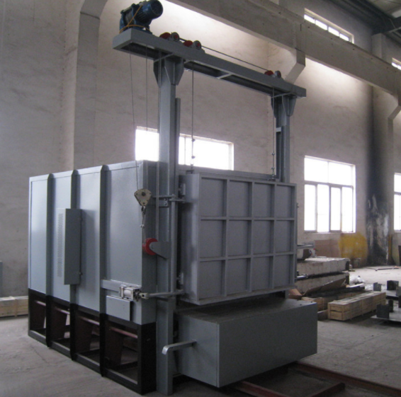 Trolley furnace equipment display